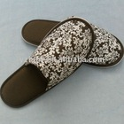 cotton comfortable hotel slipper ,non-slip indoor slippers
