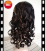 100% indian human hair wigs jerry curl full lace wigs for women
