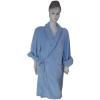100% polyester coral fleece bathrobe