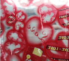 flower wrapping paper for love