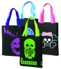 Halloween promotional non woven tote bag