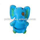 elephant, promotion inflatable tumbler toy,animal toy, kids playing toy, PVC toy