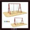Park crazy fun children swing&seesaw set Q015