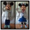 Mickey&Minnie lovers mascot costumes