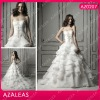 AZ0207 Sweetheart Embroidery Rouging floor length a line prom dresses 2012