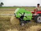 round hay baler machine