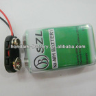 battery button for 9V Nimh battery
