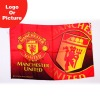 Low price football club sublimation flags