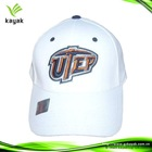 white promotional hats and caps