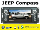 "In-dash 6.2"" car dvd player For JEEP COMMANDER / WRANGLER with touch screen gps"
