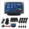 car LCD parking sensor system/Car Reversing Aid