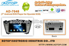 Hyundai 7 inch car Android GPS DVD player for IX35