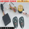 Motorcycle alarm system with remote engine starter M686S