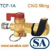 cng charging valve gas valve