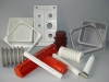 electrical insulate part by SMC molded