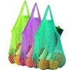 Portable cotton mesh shopping bag(SLW006)