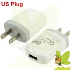 White US Plug 5V USB Charger Adapter for HTC and Other Mobile Phones