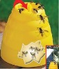 Beehive wasp trap