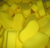 Yellow car sponge