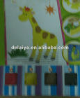 foam DIY toy-eductional craft for giraffe
