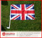 Union Auto flag/AD/promotion car flag/polyester car flag
