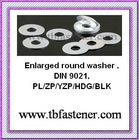 washers in zinc plated making machine din9021