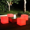Beautiful Shape Remote color changing LED Chair