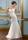 Luxurious Silver Crystal Wedding Dress 01566