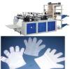 Computer PE disposable plastic glove making machine