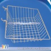 "Slat wall/Grid wire wall Basket 15"" Long X 12"" Deep X 5"" High With 3"" Slant"