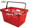 fashion Red Shopping Basket