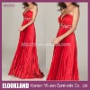 ED0532 - 2011 Latest Sleeveless Sweetheart Designer Empire A-line Ruffle Satin Long Evening dresses Evening Gowns Prom Dress