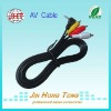 DC3.5 to 3 RCA cable