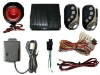 Car alarm system Sound and light alarm against theft Mute alarm