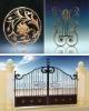 Handforged Wrought iron gate