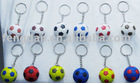 Mini football keychain