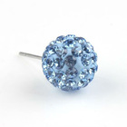 New Arrival Rhinestone Cool Stud Earrings For Girls 160851