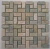 Wall or Flooring Slate Mosaic Border Pattern