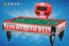 2012 new and attractive designed coin-operated carom mini billiard table