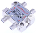 1 IN 3 OUT (3 WAY) BIG znic die cast HOUSING SAT SPLITTER