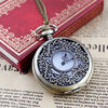 Hot-sale jewelry fashion delicate hollow out leaf vintage watch necklace