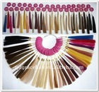 Human hair color chart (Color ring)