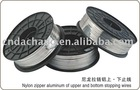 Aluminum Flat Wire of zipper parts zipper accessories stopping wire