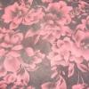Silk nylon flock garment fabric