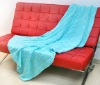 HEAVY KNITTED BLANKET LIGHT BLUE BLANKET KING SIZE BLANKET (EV-B-001)