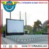 inflatable movie screen for show