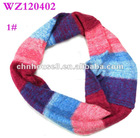 Acrylic mohair knitted loop scarf