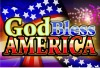 EL dynamic poster with God bless America flashing panel