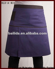 cafe waiters uniform of long waist apron