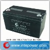 12V100AH vrla battery,rechargeable battery